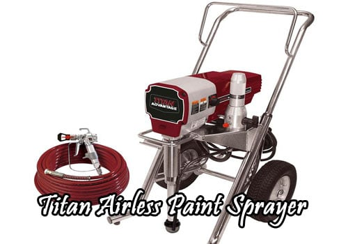 titan airless paint sprayer review