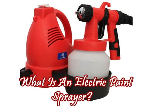 what is an electric paint sprayer
