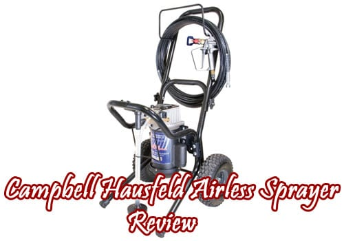 campbell hausfeld airless sprayer review