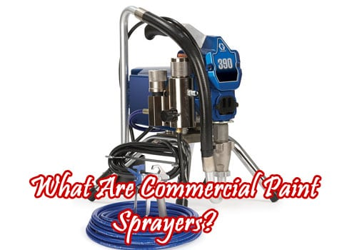 commercial paint sprayers