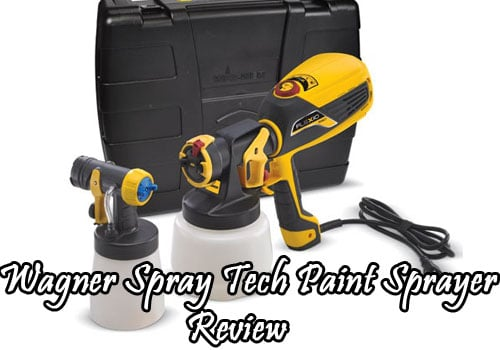 wagner spray tech paint sprayer review