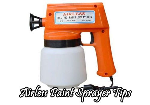 how to use an airless paint sprayer airless paint sprayer tips. Black Bedroom Furniture Sets. Home Design Ideas