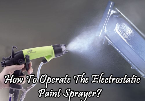 electrostatic paint sprayers