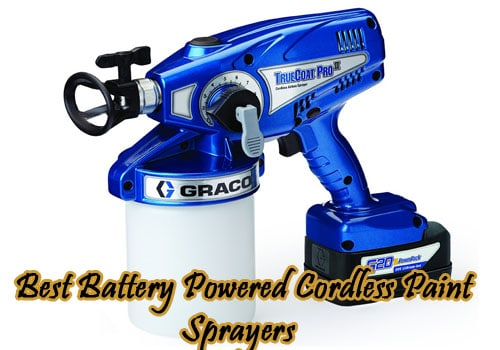 best battery powered cordless paint sprayer