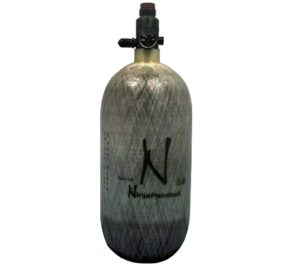 Ninja Carbon Fiber Paintball Tank