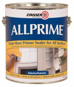 Allprime water based primer